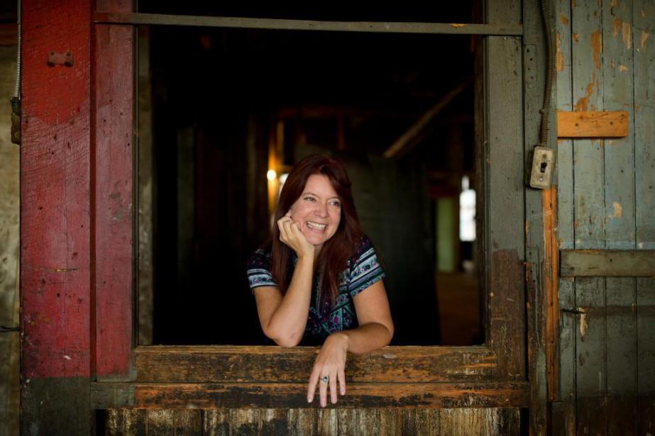 Nathalie Leclerc, fille du grand chansonnier, publie son... (Photo Martin Chamberland, La Presse)