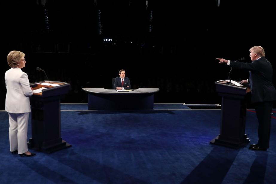 Lors du troisième débat présidentiel mercredi soir, la... (Photo AFP)