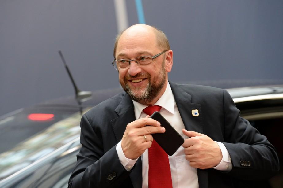 Le président du Parlement européen, Martin Schulz, a... (Photo AFP)