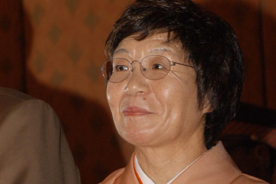Junko Tabei... (PHOTO Binod Joshi, archives AP)
