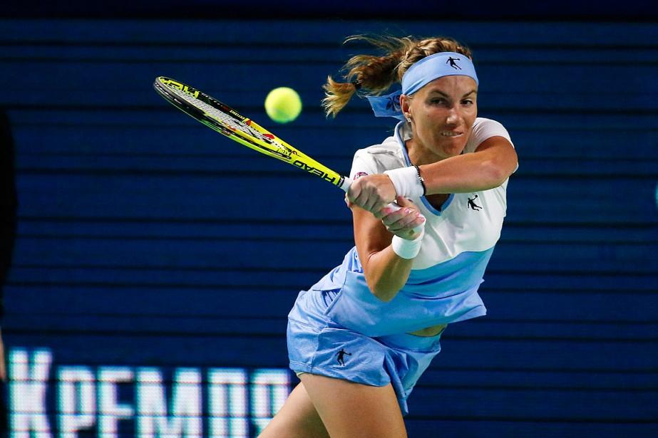 Svetlana Kuznetsova amérité le 17etitre de sa carrière.... (Photo Alexander Zemlianichenko, AP)