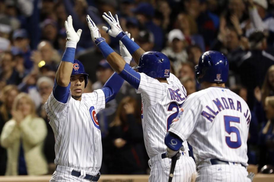 Malgré toutes les malédictions, les Cubs de Chicago... (Photo USA Today Sports)