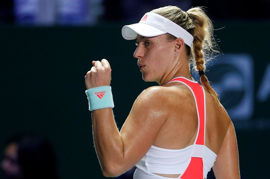 Angelique Kerber... (PHOTO EDGAR SU, REUTERS)