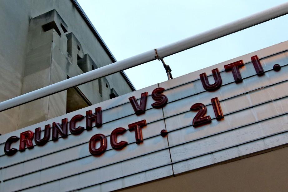 Lors de notre passage, vendredi soir dernier, le Crunch s'est incliné 5-4 devant Utica. (PATRICK WOODBURY, LeDroit)