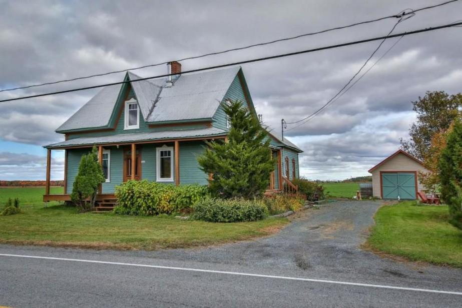 La maison est située au milieu des champs,... (PHOTO FOURNIE PAR CENTRIS)