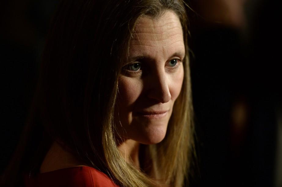 Chrystia Freeland... (Photo Adrian Wyld, La Presse Canadienne)