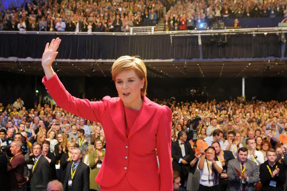 «La première ministre de l'Écosse, Nicola Sturgeon, a... (Archives, AFP)