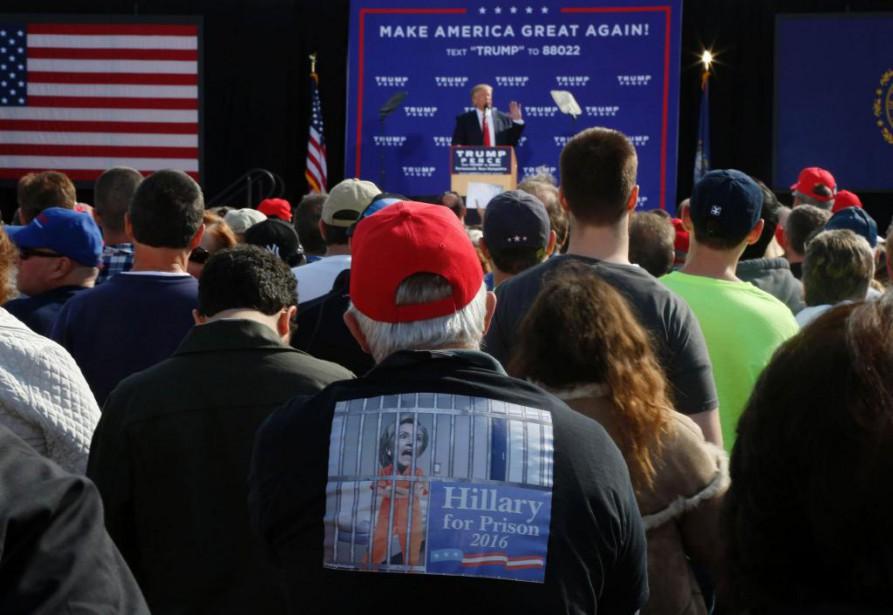 «Il n'est pas surprenant que Trump trouve un... (PHOTO Mary Schwalm, Agence France-Presse)