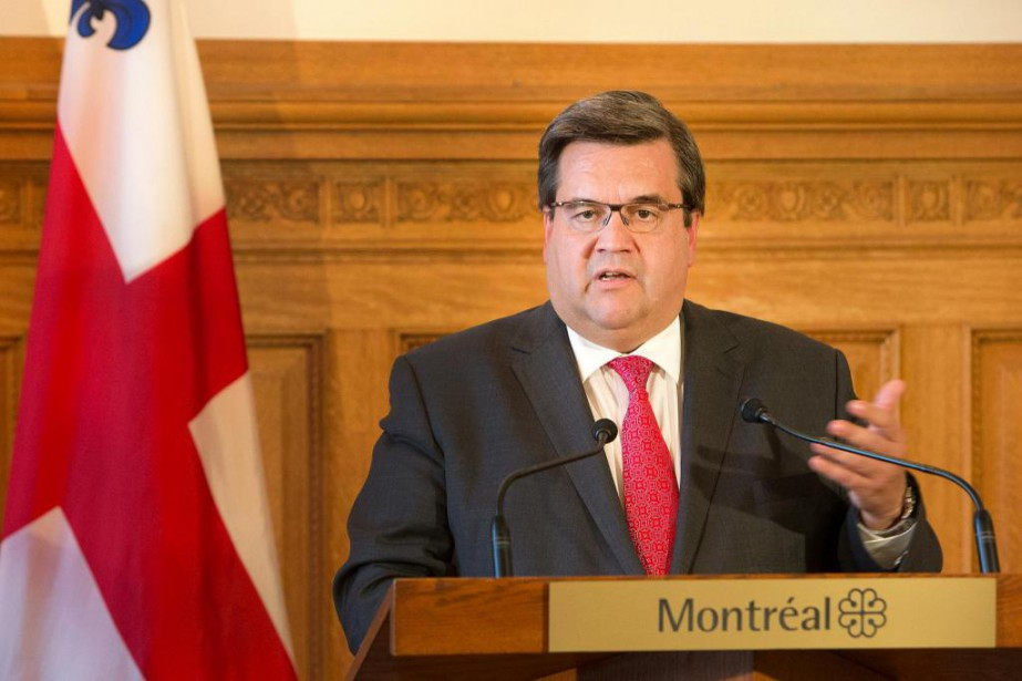 Denis Coderre, maire de Montréal... (Photo Robert Skinner, Archives La Presse)