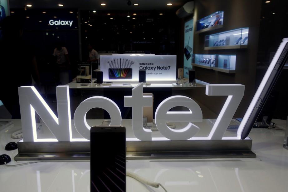 Samsungavait été contraint en septembred'ordonner le rappel planétaire... (Photo archives REUTERS)