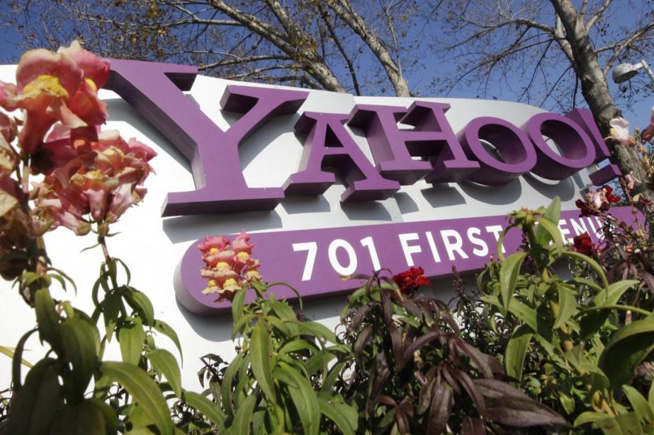 Yahoo! a été racheté cette année par Verizon.... (Photo Archives AP)