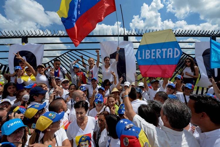 L'opposition a appelé à de grandes manifestations pour... (PHOTO AFP)