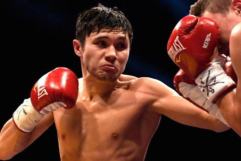 Le jeune boxeur kazakh Ablaikhan Khussainov a réussi... (Photo Bernard Brault, La Presse)
