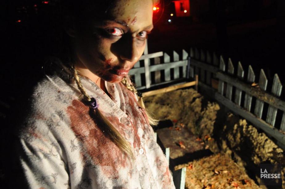 Une centaine de zombies, de fous furieux et... (Photo André Laroche, collaboration spéciale La Presse)