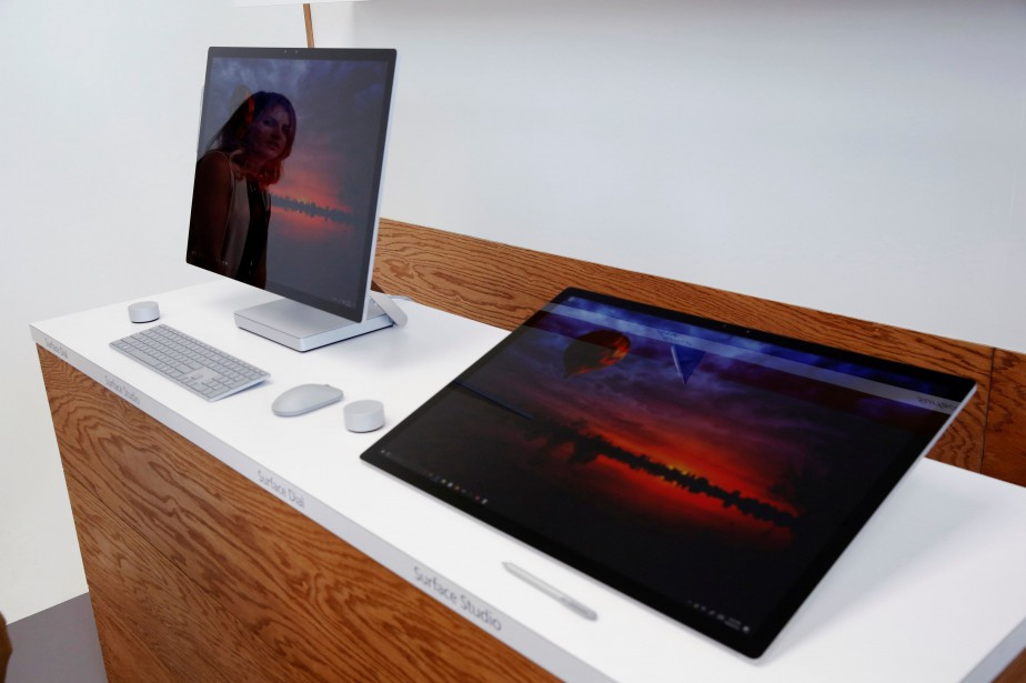 Le «Surface Studio» a notamment un très grand... (PHOTO LUCAS JACKSON, REUTERS)