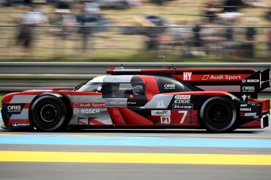 Audi, qui a gagné 13 fois au 24... (Photo : AFP)