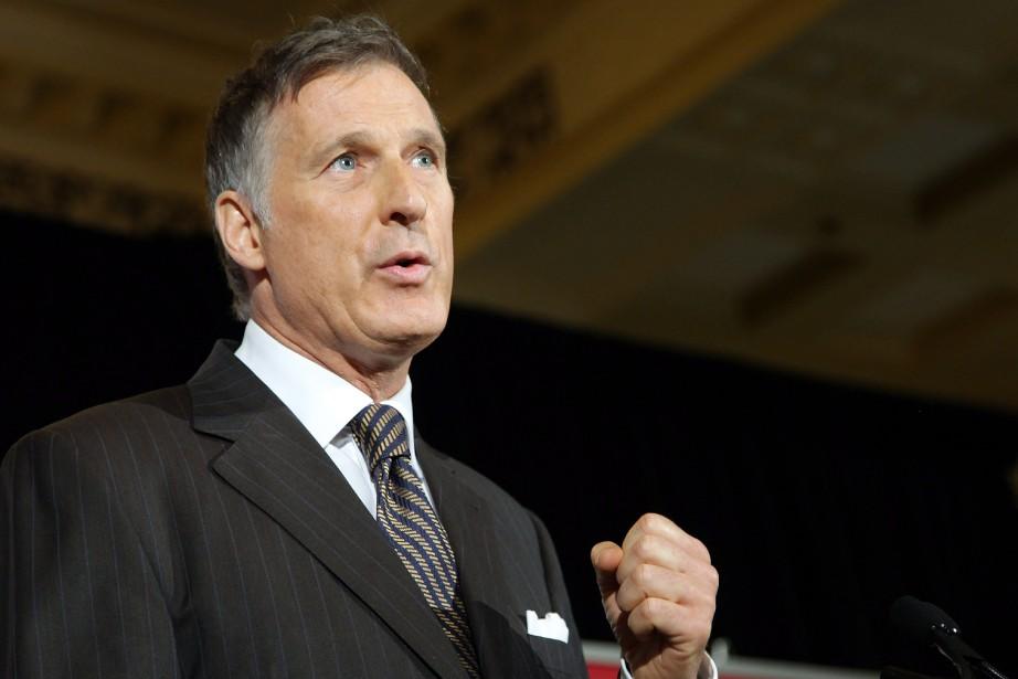 Le candidat à la direction du Parti conservateur,... (PHOTO Colin Perkel, La Presse canadienne)