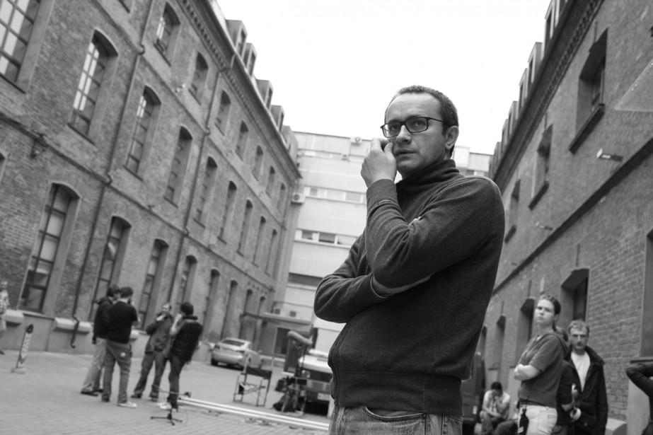 Le réalisateur Andreï Zviaguintsev sur le tournage du... (Photo fournie par SPC/Métropole)