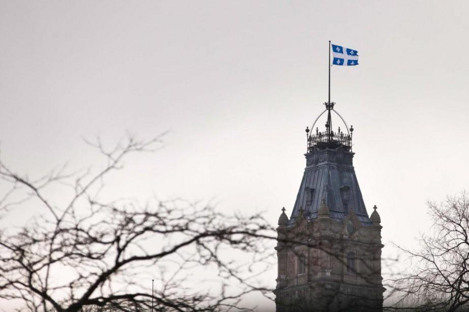 Le gouvernement du Québec a une dette équivalant... (Photo Ivanoh Demers, Archives La Presse)