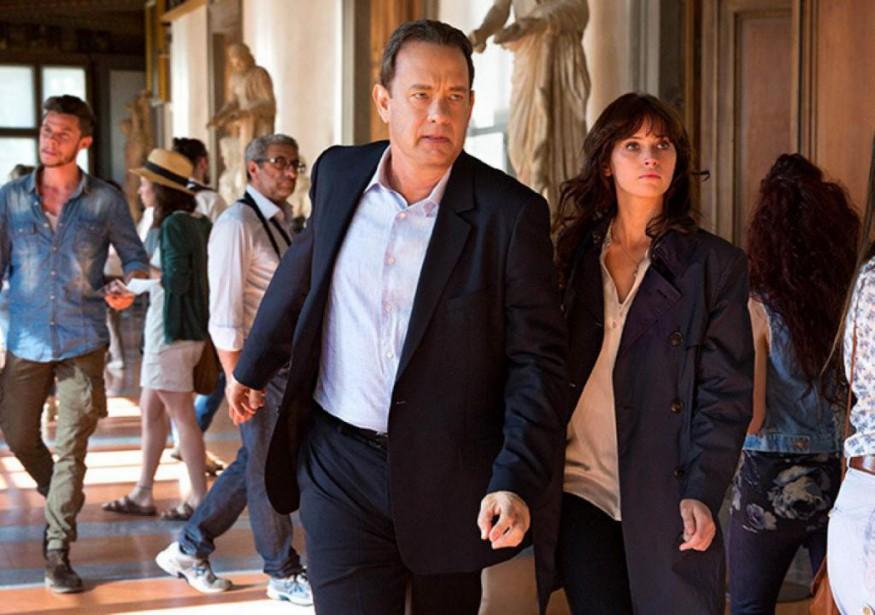 Tom Hanks et Felicity Jones dans Infernode Ron... (Photo fournie par Sony Pictures)