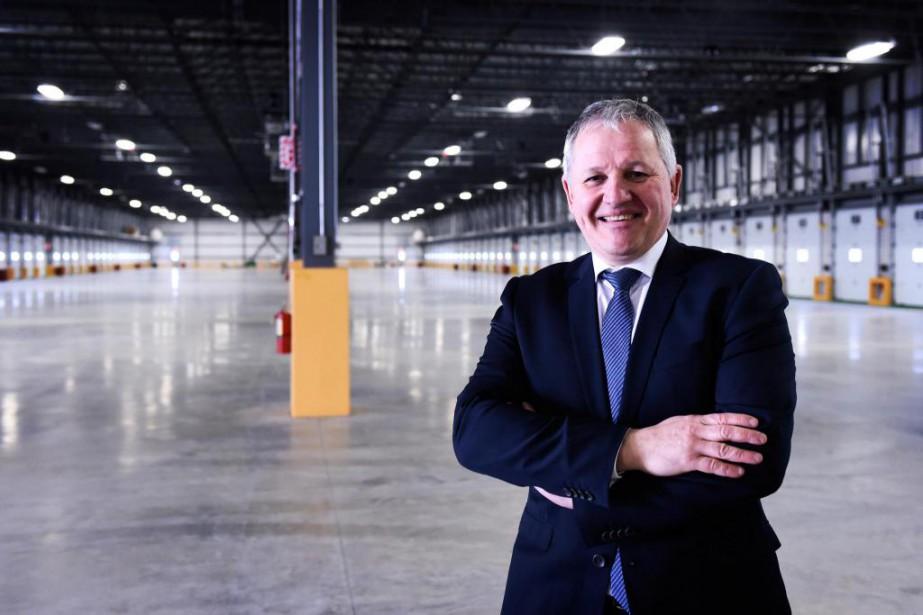 André Morneau, président-directeur général de Groupe Morneau... (Photo Bernard Brault, La Presse)