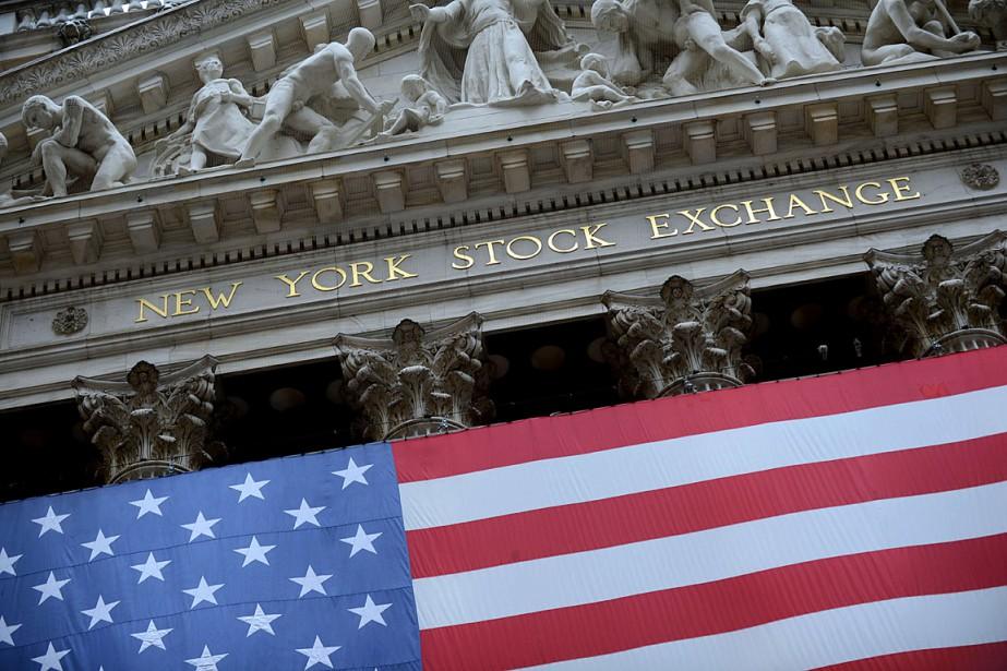 Wall Street a légèrement baissé vendredi au... (PHOTO STAN HONDA, ARCHIVES AFP)