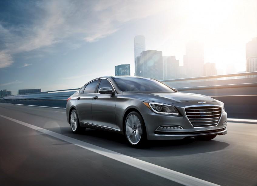 Hyundai Genesis (Fournie par Hyundai)