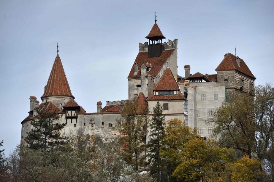 Le château de Bran... (PHOTO AFP)