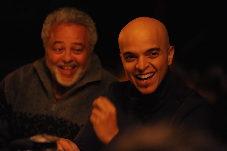 Manuel Tadros et Rachid Badouri dansPère fils thérapie.... (PhotoThierry Valletoux, fournie par la prodcution)
