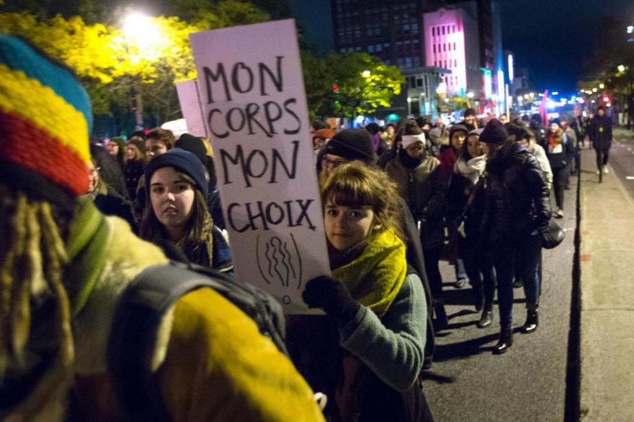 Toutes les manifestations se résument à un cri... (Photo Olivier Jean, La Presse)