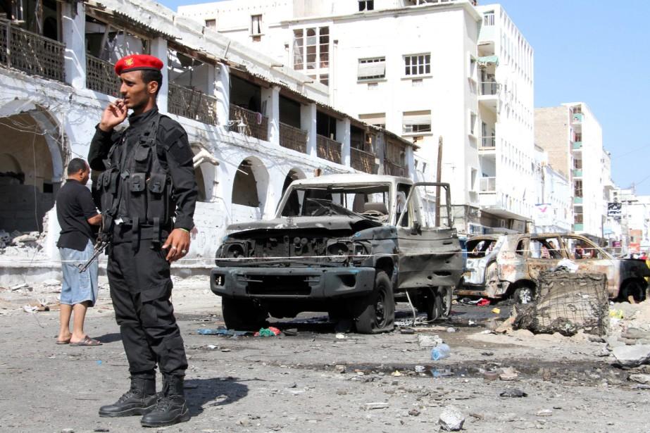 Au moins 30 rebelles et prisonniers ont été tués samedi... (Photo archives AFP)