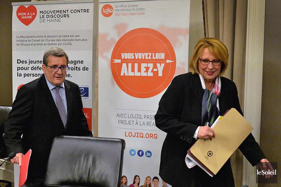 Le maire de Québec, Régis Labeaume, et la... (PHOTO PATRICE LAROCHE, ARCHIVES LE SOLEIL)