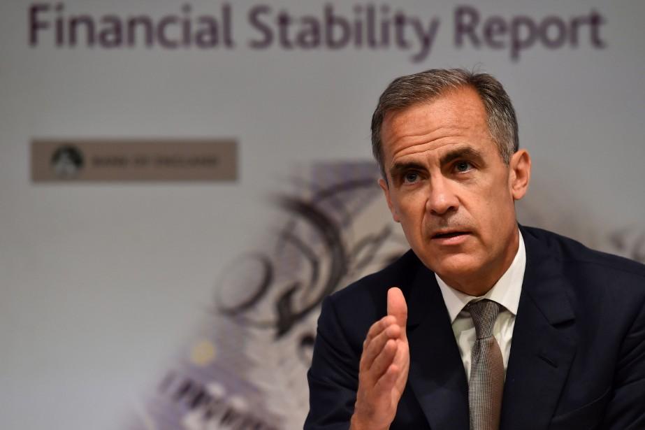 Mark Carney,gouverneur de la Banque d'Angleterre... (PHOTO BEN STANSALL, AFP)