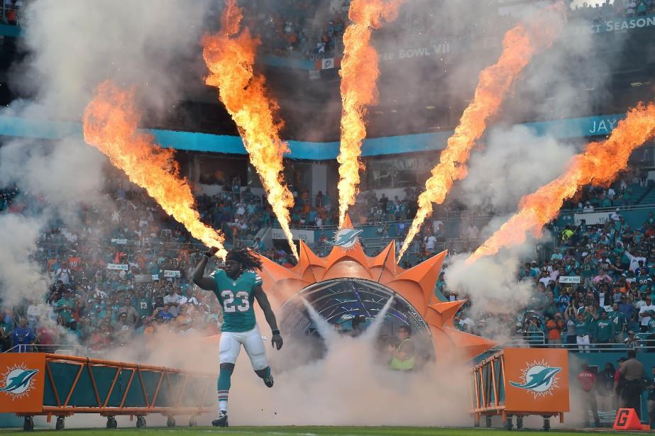 Les Dolphins ont jusqu'ici participé à quatre matchs... (PHOTO Jasen Vinlove, USA Today Sports)