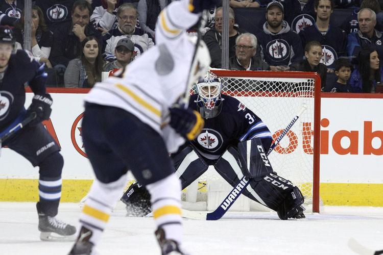Kyle Okposo a marqué deux buts pour mener les Sabres de Buffalo... (PHOTO PC)