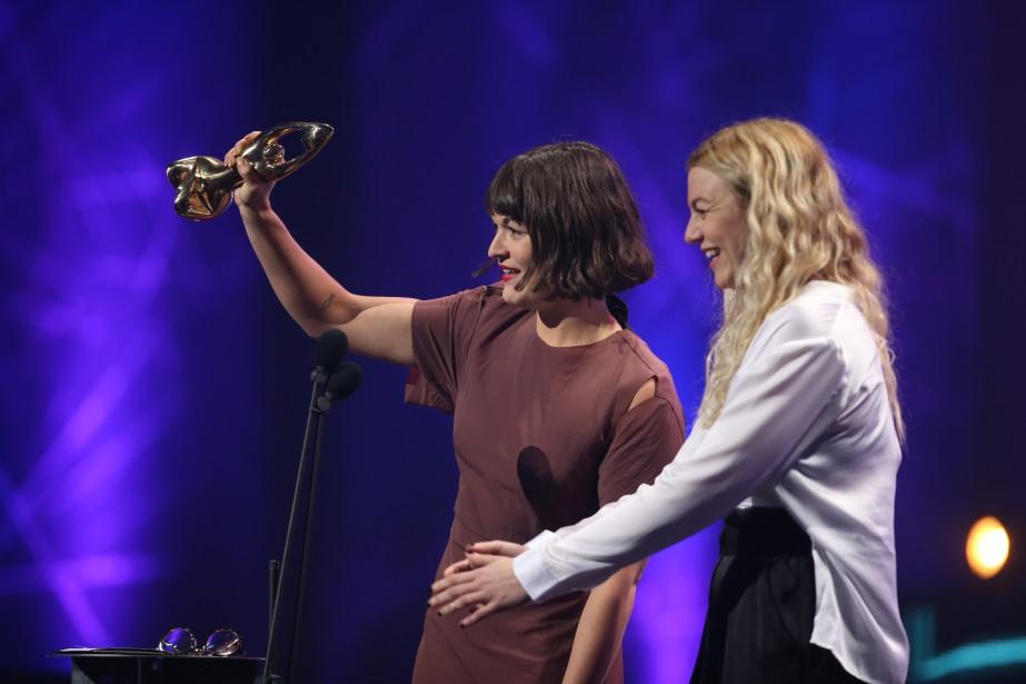 <em></em>Les soeurs Boulay ont gagné l'album folk de l'année pour<em>4488 de l'Amour.</em> (La Presse, Martin Chamberland)