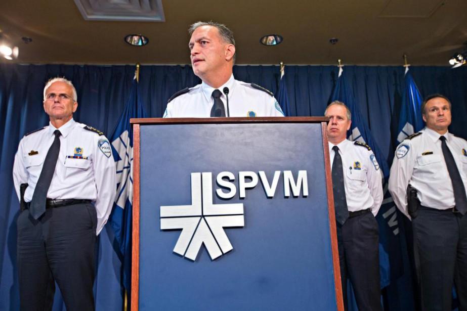 Philippe Pichet, chef du Service de police de... (Photo Patrick Sanfaçon, Archives La Presse)