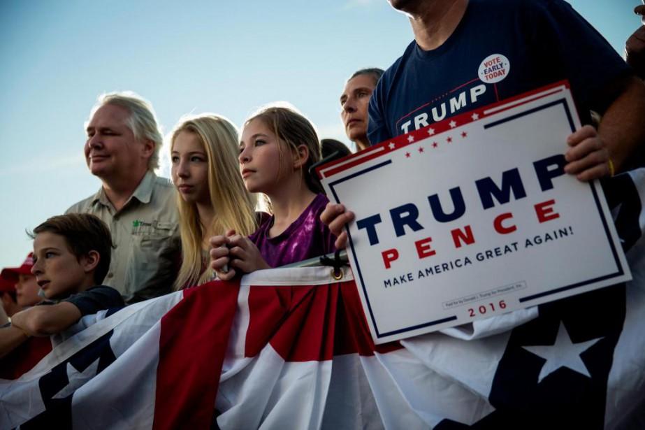 Donald Trump aime tenir des rassemblements dans des... (photo eric thayer, archives the new york times)