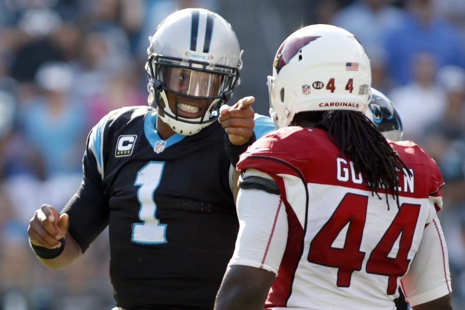 Cam Newton (1)... (Photo Bob Leverone, AP)