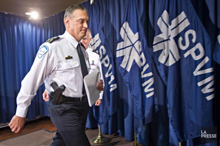 Philippe Pichet, chef du Service de police de... (PHOTO PATRICK SANFAÇON, LA PRESSE)