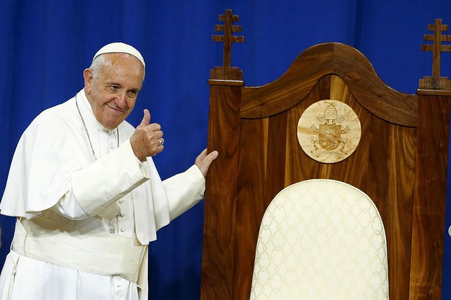Depuis son élection début 2013, le pape François... (REUTERS)