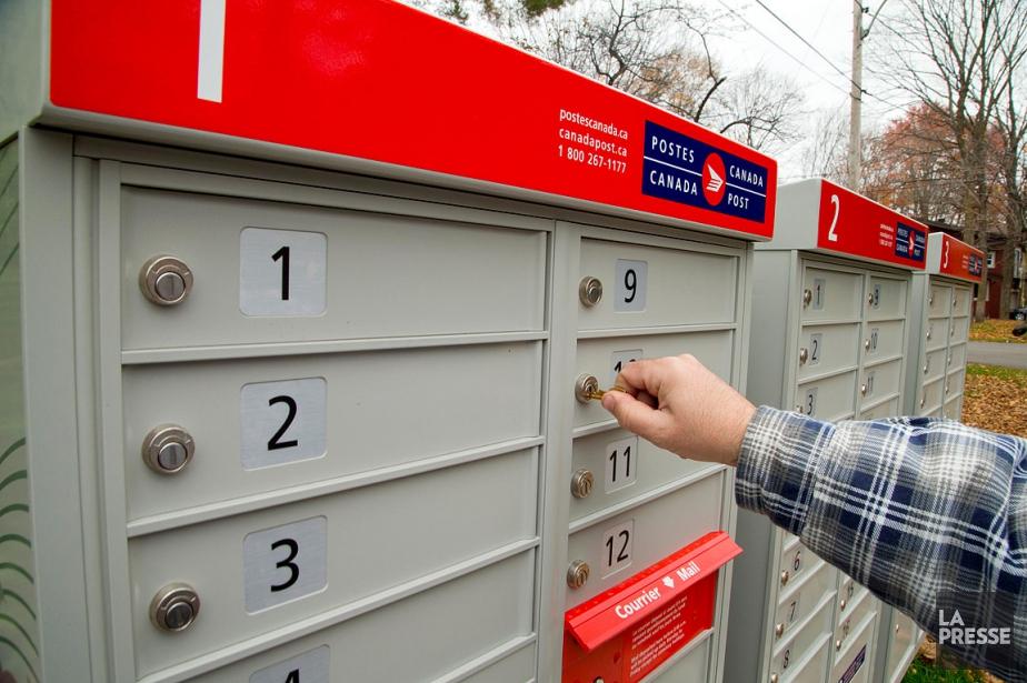 Les boîtes postales qui ont été installées depuis... (PHOTO ALAIN ROBERGE, ARCHIVES LA PRESSE)