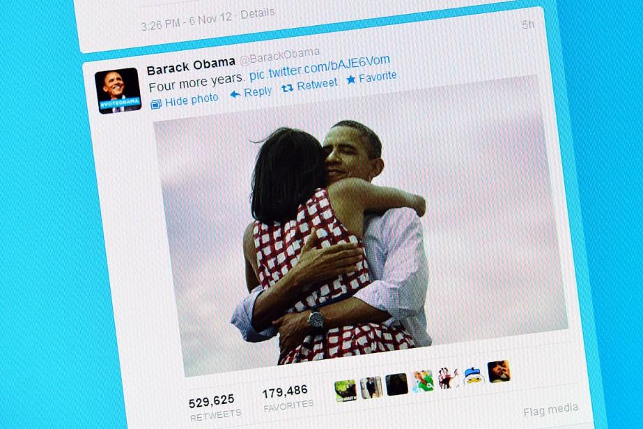 Cette photo d'un écran montre le tweet de... (GABRIEL BOUYS, archives AFP)