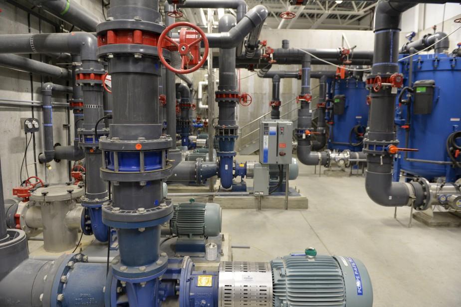 Les nouvelles technologies en place au Village Vacances Valcartier permettront d'économiser près de 21 millions de litres d'eau par année. (Le Soleil, Pascal Ratthé)