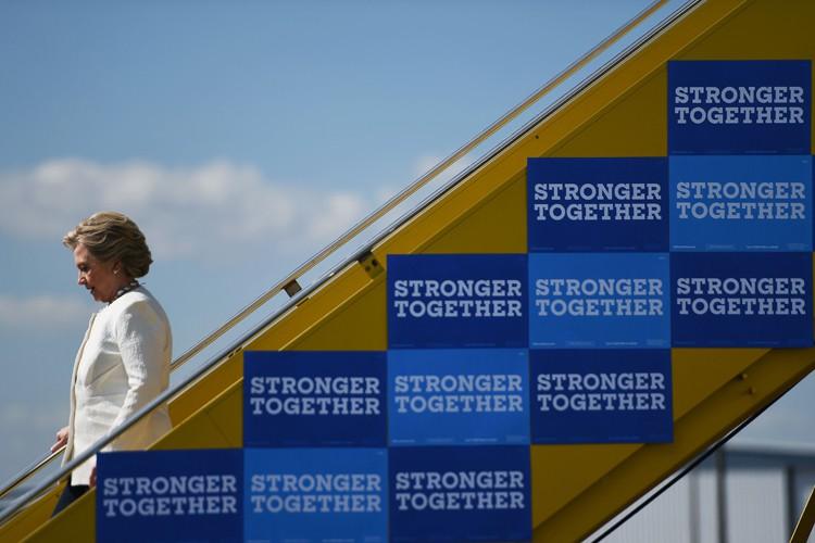 Dans le camp de la candidate démocrate, qu'un... (PHOTO AFP)