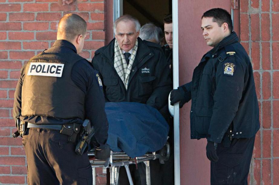 Après 33 ans de loyaux services, le policier... (Photo Patrick Sanfaçon, Archives La Presse)