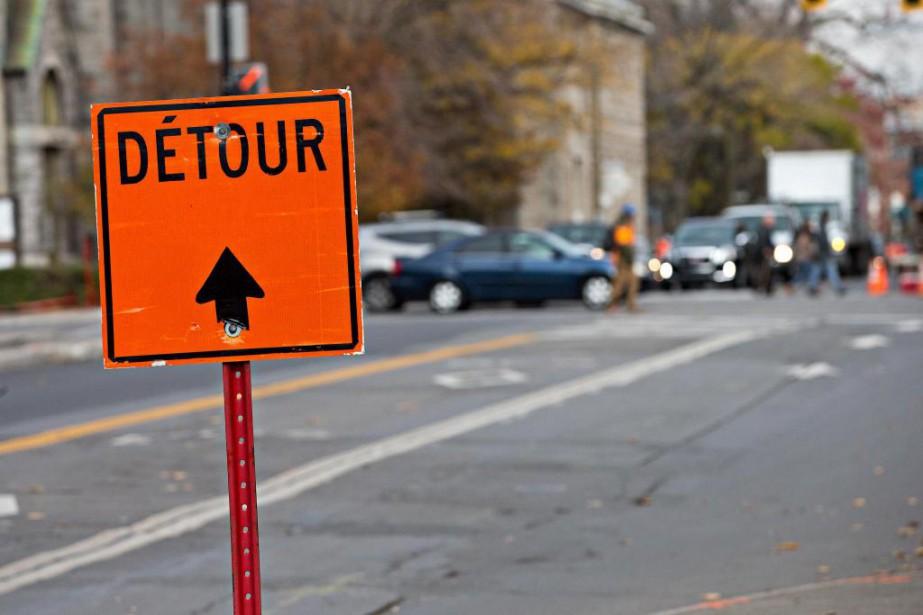 Une nouvelle campagne pour analyser l'état des rues... (Photo Patrick Sanfaçon, La Presse)