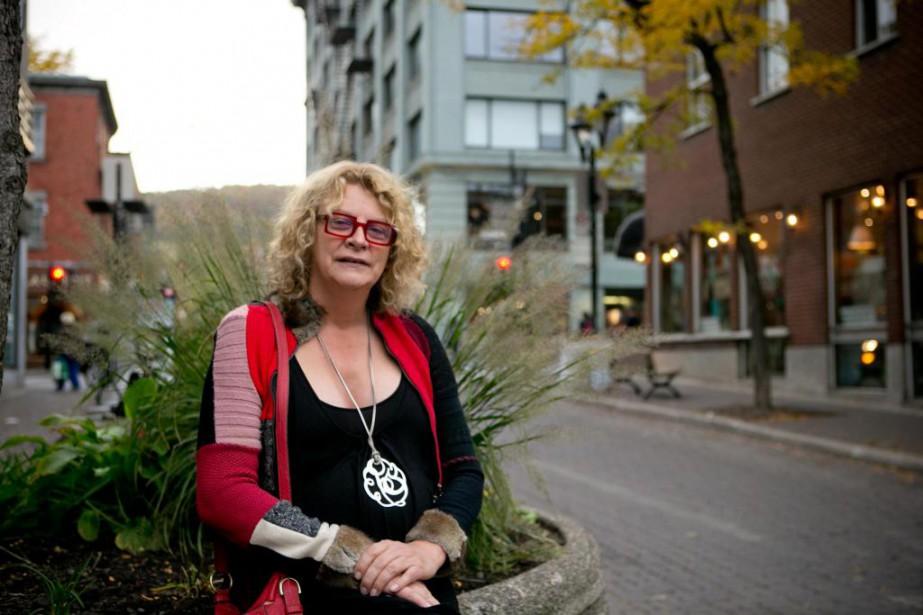 Michelle Blanc, 55 ans, consultante, conférencière et auteure... (PHOTO DAVID BOILY, LA PRESSE)