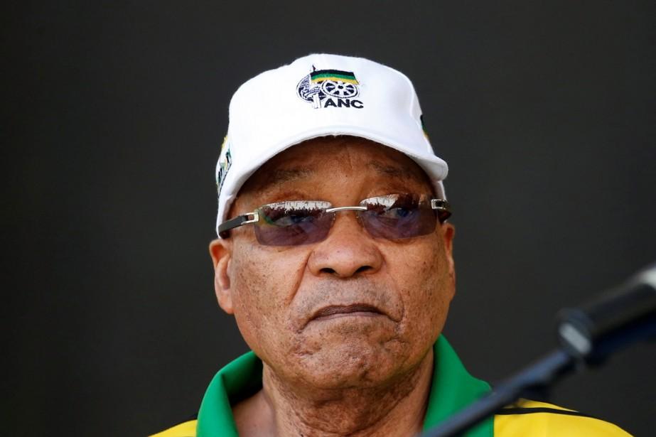 Le président sud-africain Jacob Zuma.... (photo Mike Hutchings, archives REUTERS)