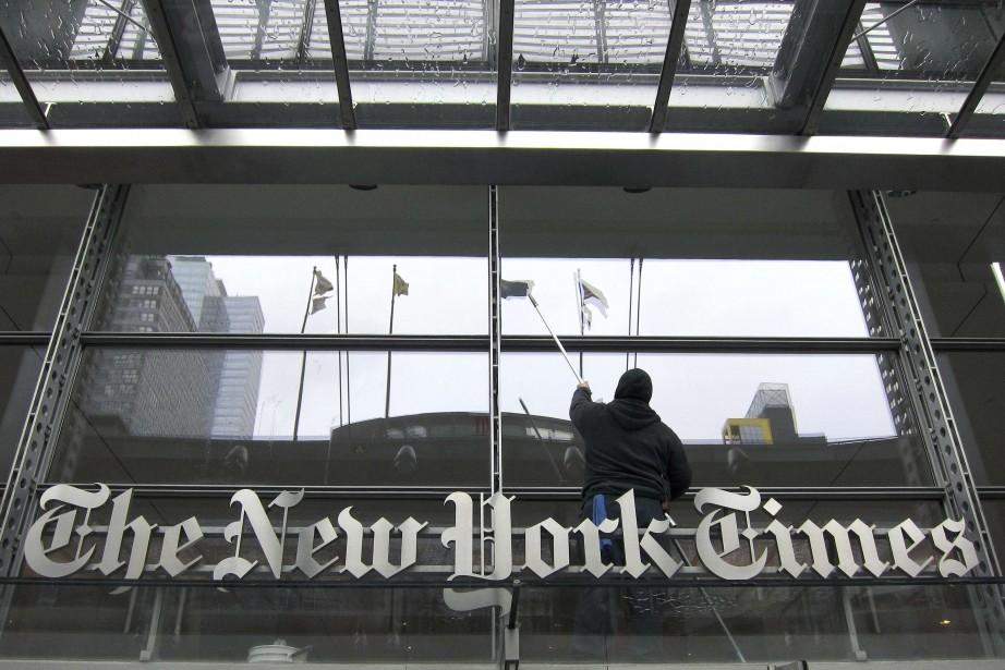 Le New York Timesest, comme beaucoup d'autres, lancé... (PHOTO ARCHIVES REUTERS)